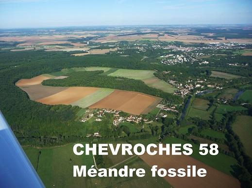 459 Chevroches méandre fossile