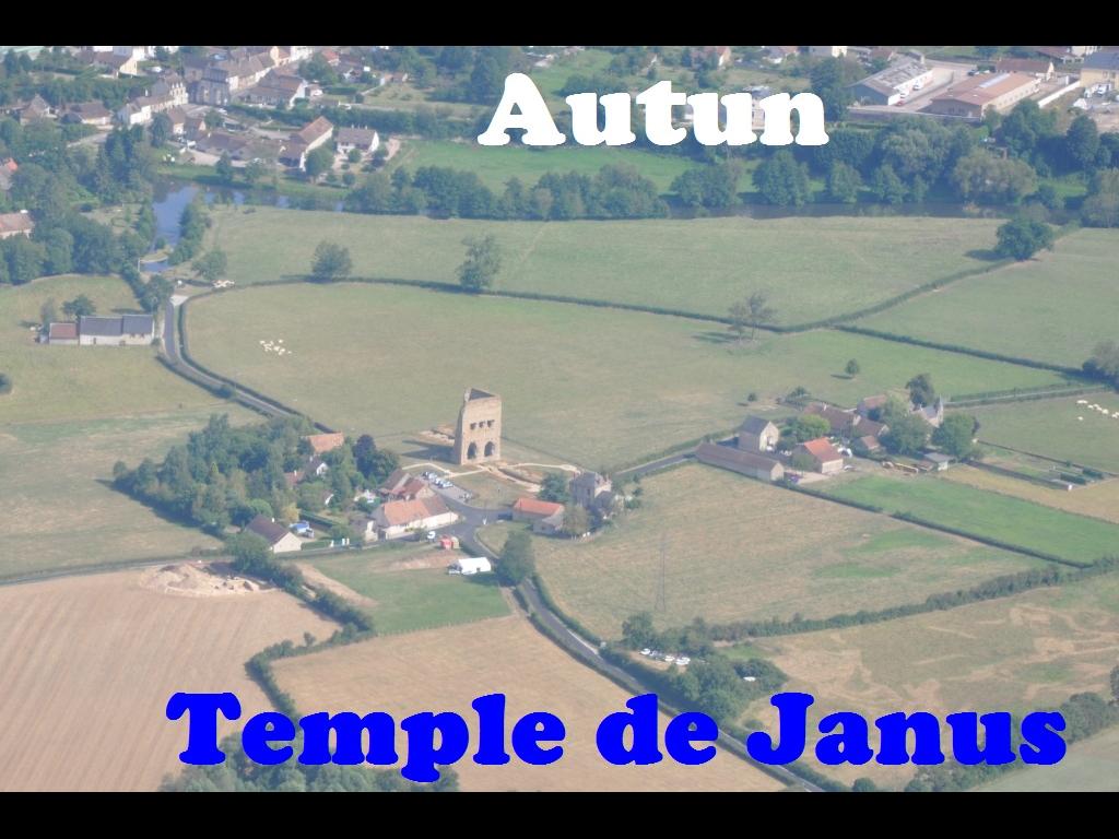 Autun Temple de Janus