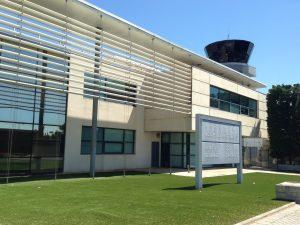 Le terminal Aviation Générale de l'aéroport de Montpellier