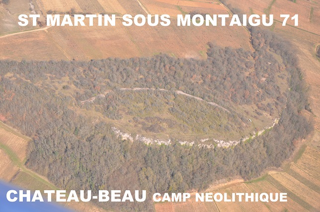 0695 St Martin sous Montaigu Chateau Beau